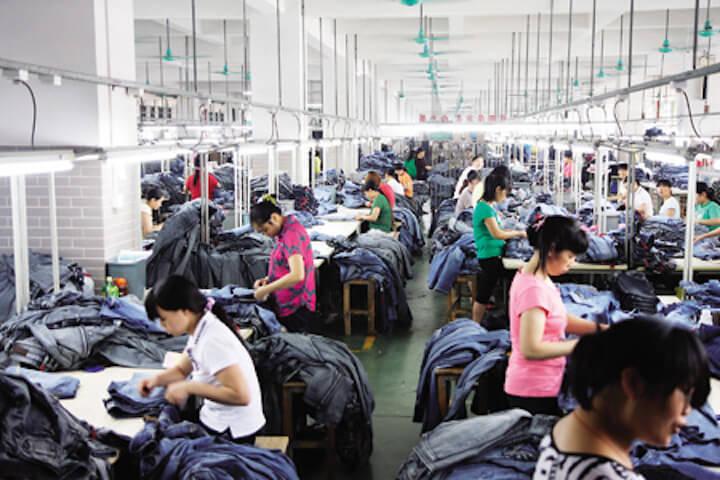 Guangzhou Zengcheng Jean manufacturing