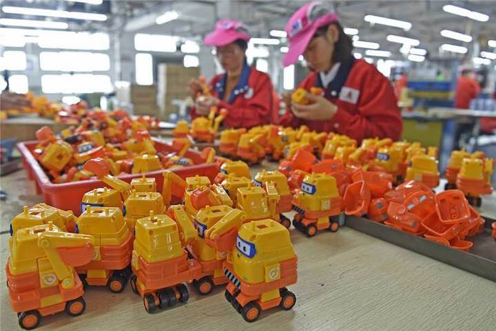 Shantou chenghai toy manufacturing