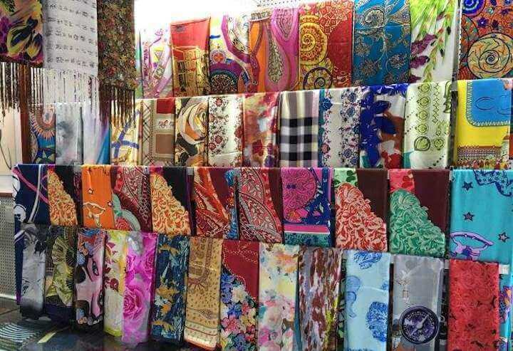 Zibo-Silk goods