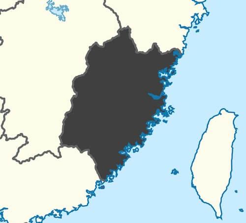 fujian manufacturing cities
